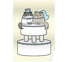 Kitty Cat Wedding Poster