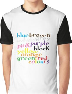 English colour words Graphic T-Shirt
