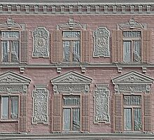 An embossed facade in Maribor - Slovenia by Arie Koene