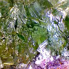 Green Fluorite (Detail) by Stephanie Bateman-Graham