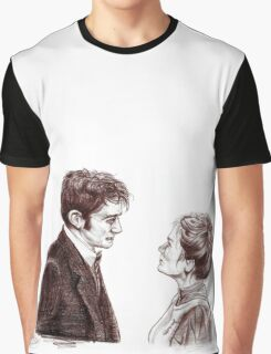 """""""Human Nature"""" Doctor Who Inspired Sketch Graphic T-Shirt"""