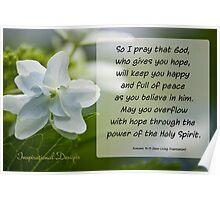 Romans 15:13 Poster