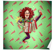 Alfred (Weird Al) Yankovic and Harvey the Wonder Hamster Poster
