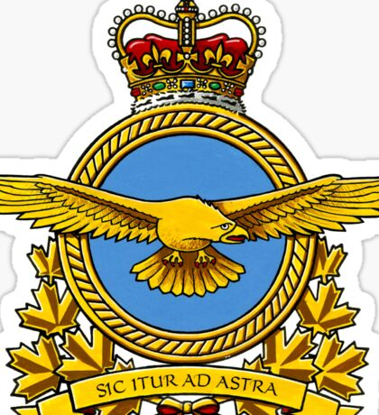 Royal Canadian Air Force Badge Sticker