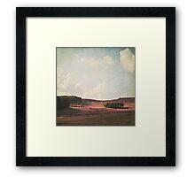 Fields of Heather Framed Print