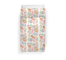Chinese Animals of the Year Duvet Cover