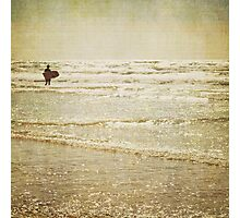 Surf the sea and sparkle Photographic Print