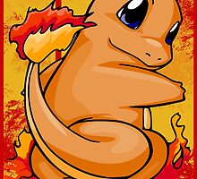 Charmander by beanzomatic