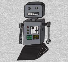 Robot doodle by bradwoodgate