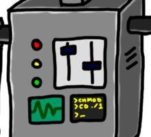Robot doodle Sticker
