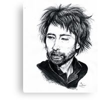 Thom Yorke [Radiohead] Canvas Print