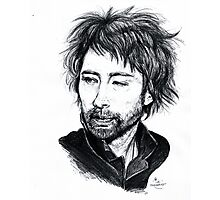 Thom Yorke [Radiohead] Photographic Print