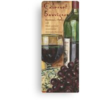 Red Wine and Cheese 1 Canvas Print