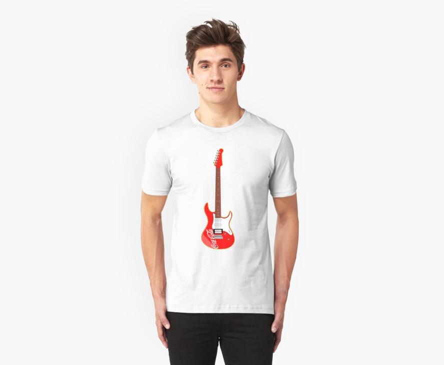 Coca Cola 'Christmas' Guitar by LeonBest