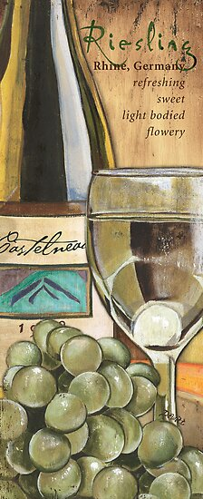 Red Wine and Cheese 2 by Debbie DeWitt