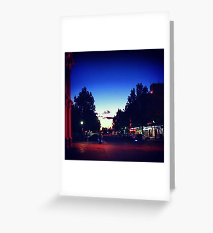 Hargreaves Street Greeting Card
