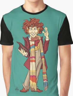 The Fourth Doctor [Who] Graphic T-Shirt