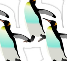 Penguins Marching Home  Sticker