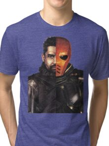 Slade Vs Deathstroke Tri-blend T-Shirt