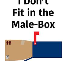 I don't fit in the Male-Box by Jonlynch