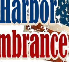 Pearl Harbor Day Memorial Sticker