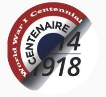 First World War Centenary Logo Kids Tee
