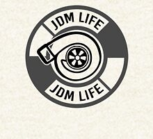 The jdm life turbo - gray Hoodie