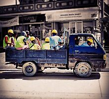Work Safe Ride Safe by Rowden Kolone