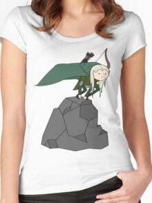 Legolas Time Women's Fitted Scoop T-Shirt