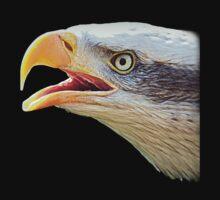 Alaskan Bald Eagle - Tees by naturelover