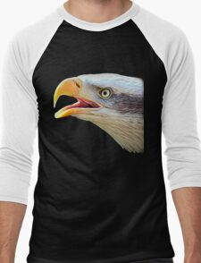 Alaskan Bald Eagle - Tees Men's Baseball ¾ T-Shirt