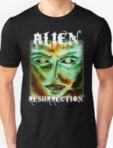 Alien Resurrection white lettering for dark  garments  T-Shirt
