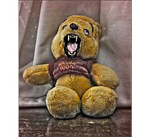 Crazy Ted. Photographic Print