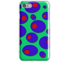 Blue Olives & Red Pimentos iPhone Case/Skin