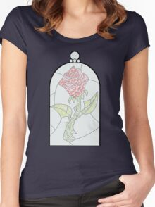 Enchanted Rose Women's Fitted Scoop T-Shirt