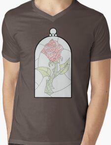 Enchanted Rose Mens V-Neck T-Shirt