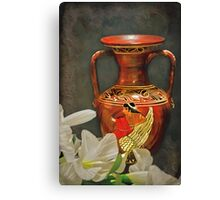 Made In Greece Canvas Print