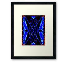 Red Border Framed Print