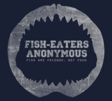 Fish-Eaters Anonymous by rebeccaariel