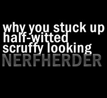 Nerfherder by imaginemorgans