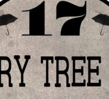 Cherry Tree Lane Sticker