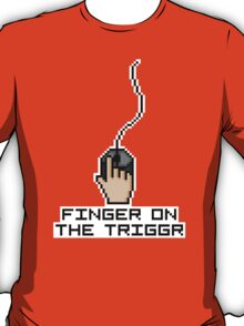 Finger On The Trigger T-Shirt