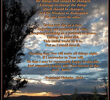 The Original Serenity Prayer by Glenn McCarthy