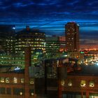 Regina City Night Lights by Bruce Guenter