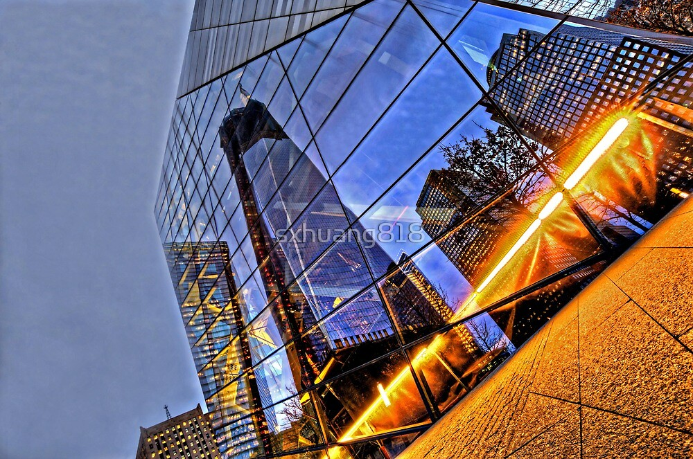 Reflection of Grand Zero by sxhuang818