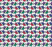 Unit 01 Multicolor Repeating Pattern by maryonnaise