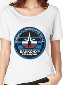 Baikonur Cosmodrome Logo Women's Relaxed Fit T-Shirt
