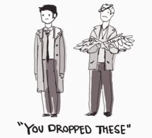 """Dean/Cas: """"You Dropped These"""" T-Shirt"""