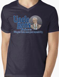 Uncle Ben's Rice. Spider-man Mens V-Neck T-Shirt