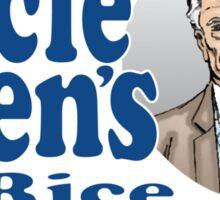 Uncle Ben's Rice. Spider-man Sticker